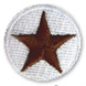 brown star patch