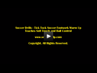 Soccer Footwork Drill
