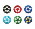 600 Original Soccer Value Pack (100 Black, Red, Blue, Green. Lt. Blue, Blue/Yellow)